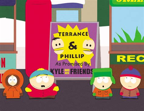 south park it hits the fan script terrance and phillip the south park