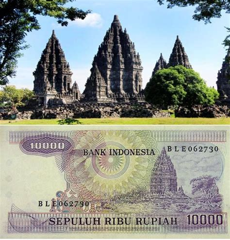 Prambanan Coklat 9 tempat keren di indonesia yang diabadikan dalam rupiah yuk piknik
