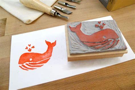 make own rubber st geninne st carving zoeken lino print