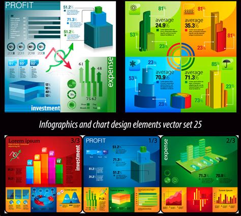 infographics and chart design elements vector set download graphic photoshop vectors wallpaper
