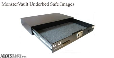 under the bed safe armslist for sale trade under bed monster vault safe