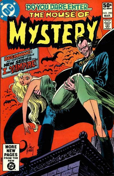 the mystery bennet books house of mystery vol 1 290 dc comics database