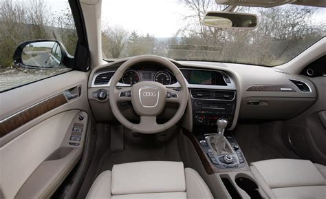 Audi A4 2010 Interior by Car And Driver