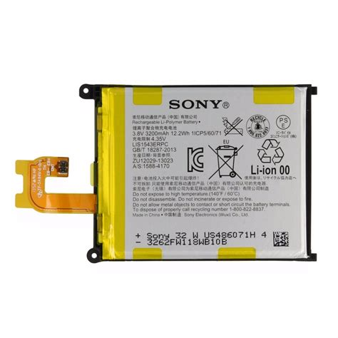Baterai Xperia Z2 D6503 Original bateria sony xperia z2 d6502 d6503 d6543 original