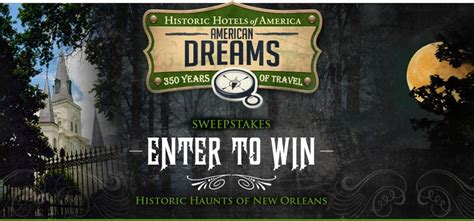 New Orleans Sweepstakes - historic haunts of new orleans sweepstakes myfreeproductsles com