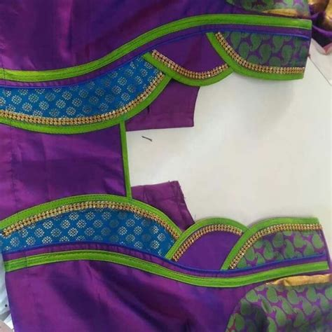 Simple Neck Design Pattern | 636 best images about blouse designs on pinterest hindus