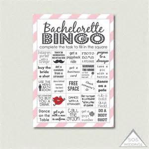 Bachelorette Bingo Template pink bachelorette bingo bachelorette bingo cards