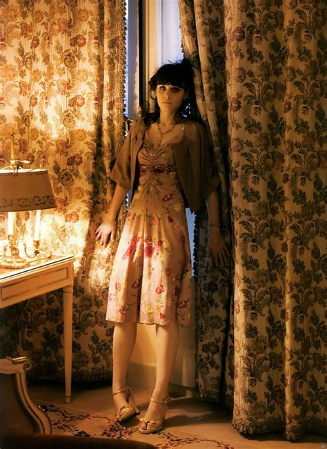 Zooey Deschanels Lula Magazine Photo Shoot by Copyright 2000 O Hearn All Rights Reserved