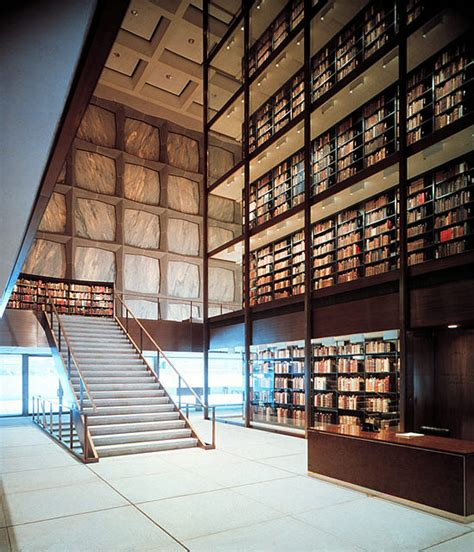 beinecke book and manuscript library selected works gordon bunshaft the pritzker architecture prize