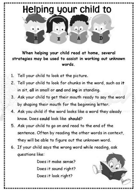 Parent Letter For Reading At Home Home Reading Letter For Parents Print It And Send It Home Great Hints And Tips Guided