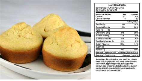 corn calories low carb muffin mixes easy delicious