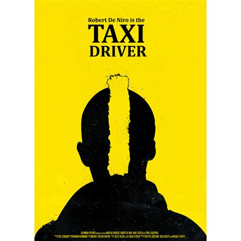 Taxi Driver Description by Alternative Poster For Taxi Driver By Robert Olah