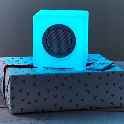 led light up speakers light up led bluetooth 174 small speaker cube pbteen