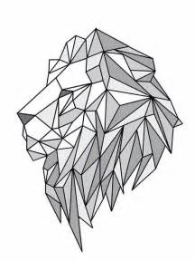 Wolf Wall Murals lion geometric create by june pur another pinterest