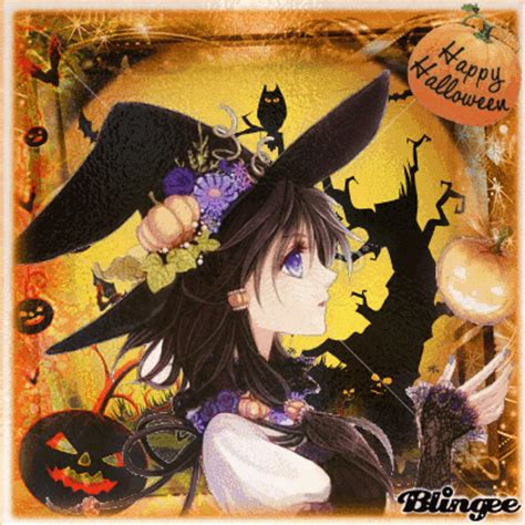 imagenes de halloween en anime anime happy halloween picture 124581881 blingee com