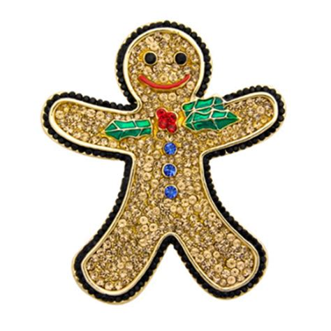 Pin By Crystal Wilson On 48 Men With Facial Hair And Ones | butler and wilson large crystal gingerbread man brooch topaz