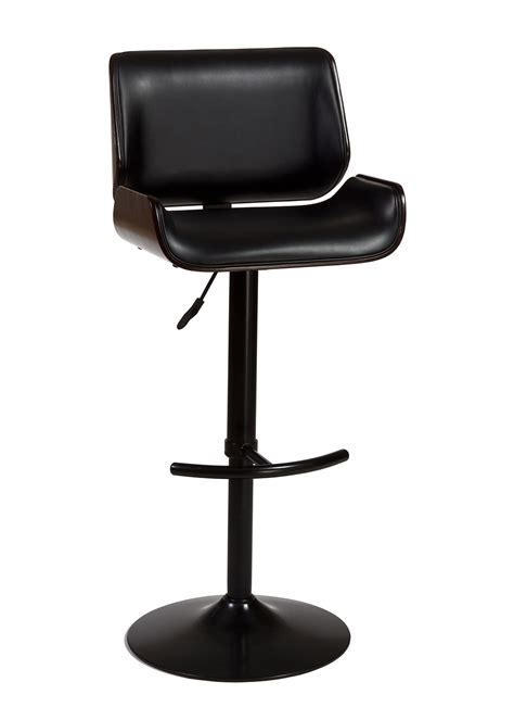leather and wood bar stools furniture black metal counter stool using brown wooden