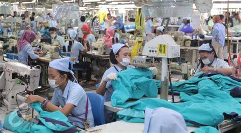 layout perusahaan garmen produksi brand terkenal perusahaan ini bawa indonesia