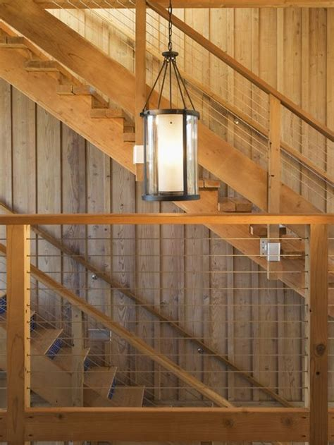 Replacing Banisters Wire Staircase Railing Ideas Pictures Remodel And Decor