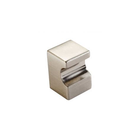 Square Door Knobs by Square Ftd2525asn Satin Nickel 18x18mm Cupboard Knob