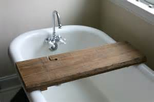 Clear Glass Bathtub Make This Rustic Bath Caddy From A Single Board Of