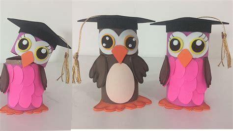 invitaciones de grado en fomix o goma eva dulceros para graduaci 243 n con rollos de papel youtube