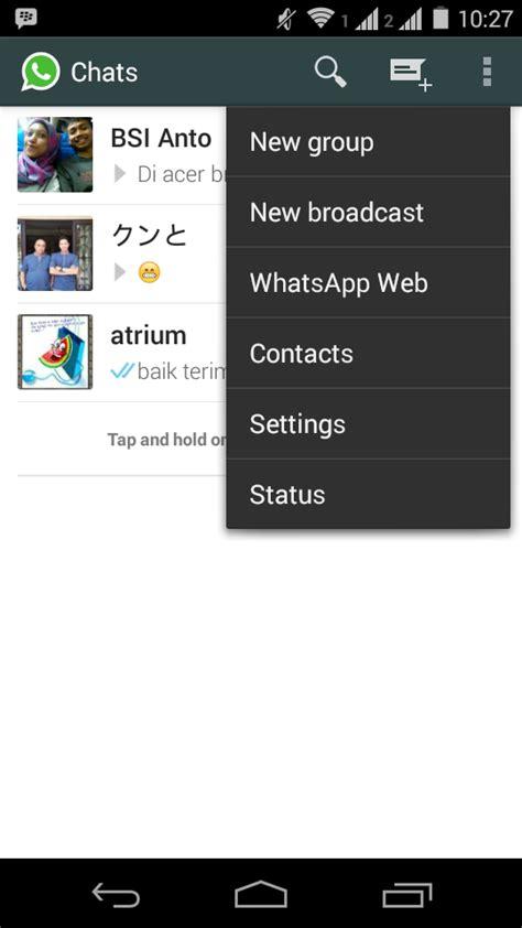 tutorial whatsapp web android serba serbi android tutorial cara menggunakan whatsapp