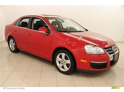 red volkswagen jetta 2008 2008 salsa red volkswagen jetta se sedan 119111777 photo