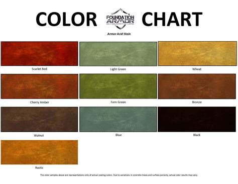 acid stain colors concrete acid stain for acid stained concrete