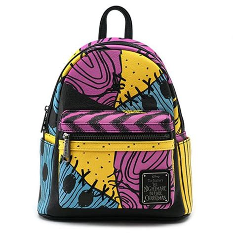 nightmare before sally costume mini backpack entertainment earth