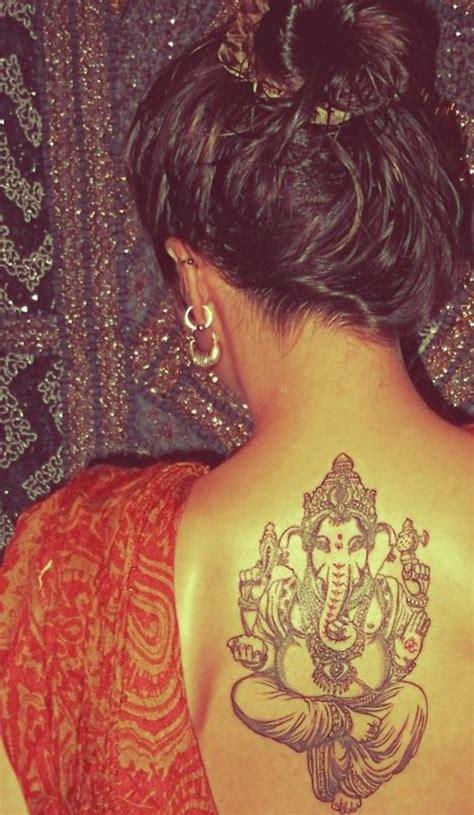 tattoo bewertungen ganesha tatoos f 252 r frauen indische motive auf dem r 252 cken