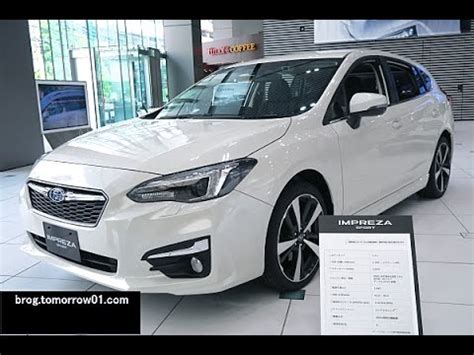 2017 subaru impreza sedan white 2017 subaru impreza hatch sedan and chassis get detailed