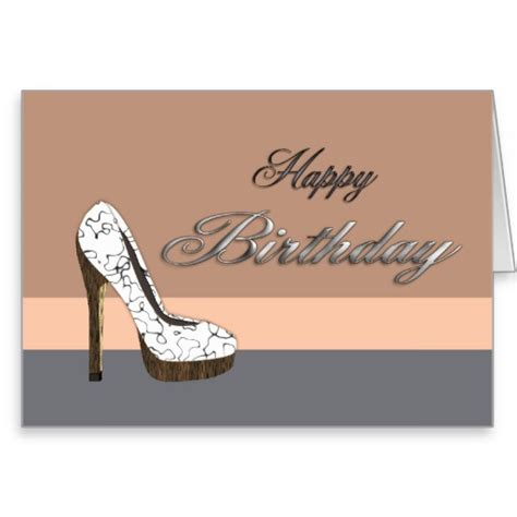 High Birthday Card Happy Birthday Wishes With High Heels