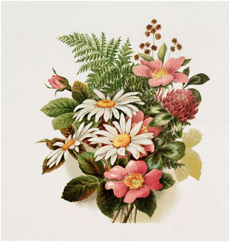 Floral Bouquets by Vintage Pink Floral Bouquet Image The Graphics