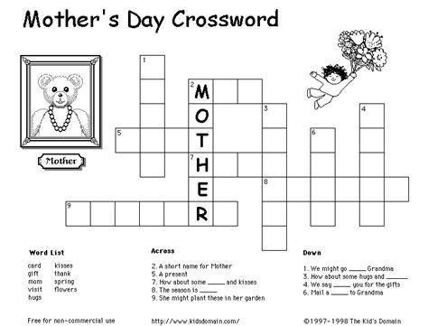 easy crossword puzzles for kindergarten easy crossword puzzles for kids new calendar template site