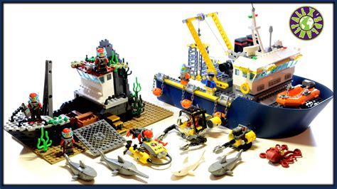lego boat deep sea lego deep sea exploration vessel review alexsplanet