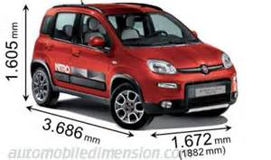 Fiat Panda Length Measurements Of Fiat Previous Models