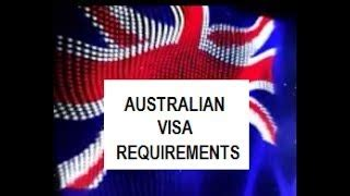 Australian Visa Requirements Criminal Record Australia Visa Requirements Alot