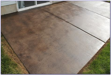 Staining Concrete Patio Pavers Patios Home Decorating Staining Patio Pavers