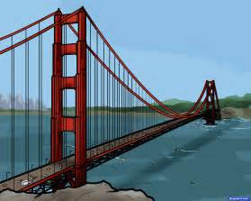 How to draw the golden gate bridge golden gate bridge 1 000000015434 5
