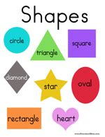 printable shapes chart free printable charts