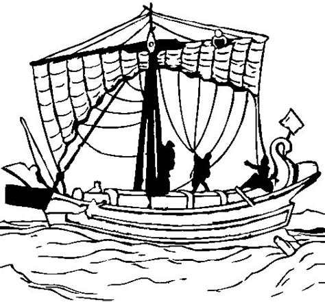 barco antiguo dibujo dibujo de barco romano para colorear dibujos net