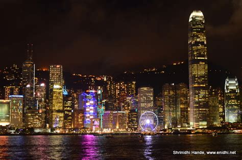 Hong Kong Light Show by Quot A Symphony Of Lights Quot Evening Sound And Light Show In
