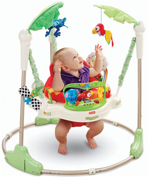 baby jumping swing fisher price rainforest jumperoo baby bouncer ebay