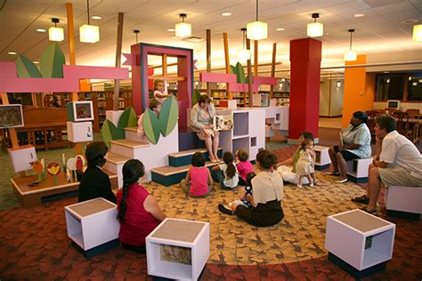 Study Room For Kids by Architecture Is Fun Evanston Public Library Children S