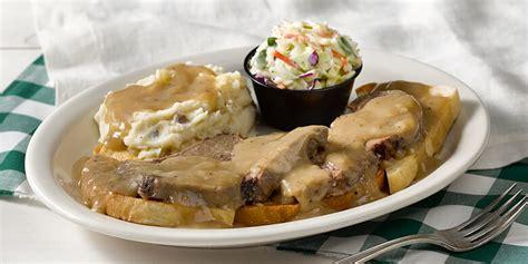 Fast Easy Dinner Open Roast Beef Sandwich by Open Faced Roast Beef