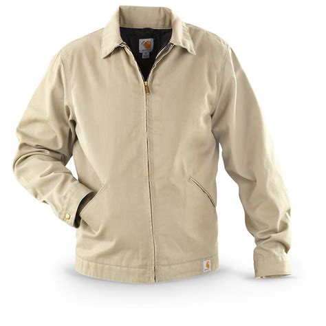 Grosir Jaket Jacket Jaket carhartt weathered twill work jacket 607652 insulated jackets coats at sportsman s guide
