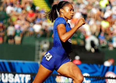 allyson felix body allyson felix clocks fastest time in 400m semifinals