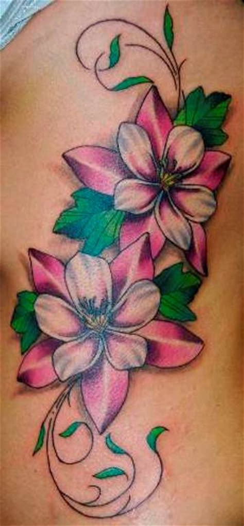 the gallery for gt unique flower tattoos