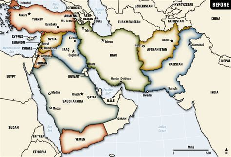 middle east map today a map of a future middle east leftymitt